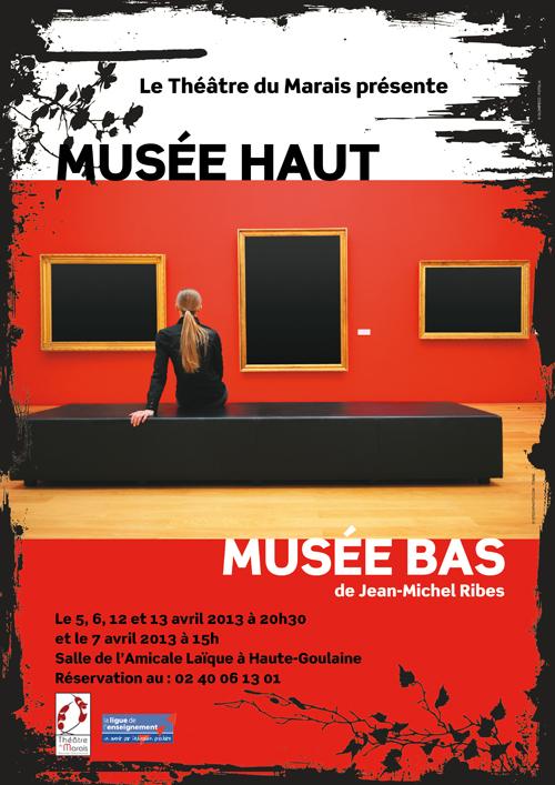 affiche du Théâtre 2013