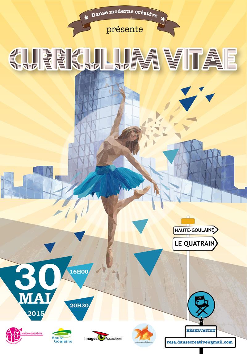 affiche Gala de danse 2015