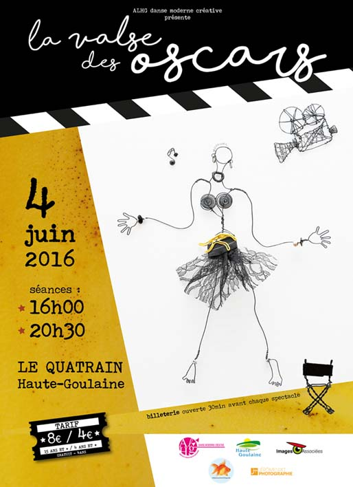 affiche Gala de Danse 2016