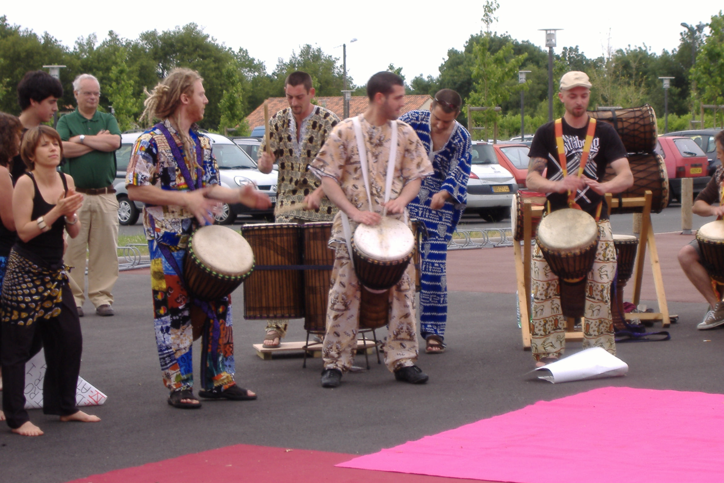 danse africaine Mai-Juin 2009